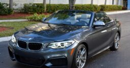 2015 BMW M235I CONVERTIBLE