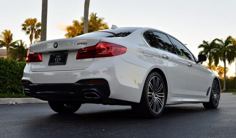 2017 BMW 540I full